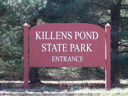 Killens pond -main sign