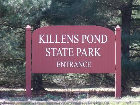 Killens pond -main sign